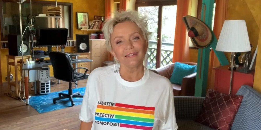 Małgorzata Ostrowska: nie zadaję się z ideologią, tylko z normalnymi, żywymi ludźmi, których kocham