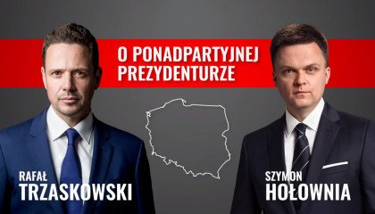 """Hołownia zagłosuje na Trzaskowskiego. Dogadali się ws. """"bezpartyjnej prezydentury"""""""