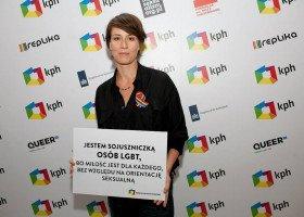 """Maja Ostaszewska wspiera osoby LGBT. """"Czuję wstyd i zażenowanie"""""""