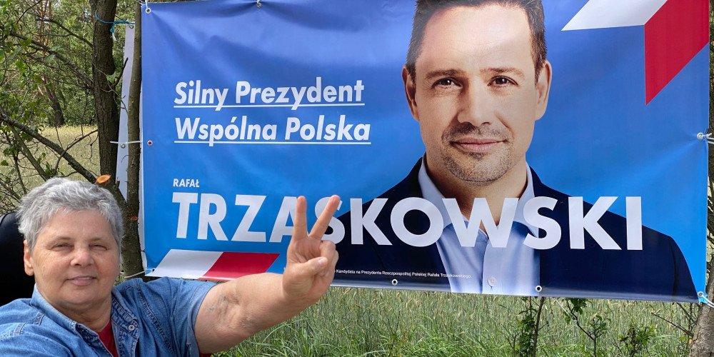 Janina Ochojska pyta Dudę o obowiązkowe szczepienia i wymienia powody, dla których popiera Trzaskowskiego