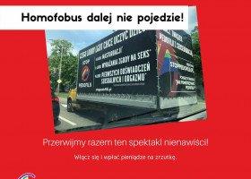 Stowarzyszenie Tolerado walczy z homofobicznymi furgonetkami Pro - Prawo do Życia.