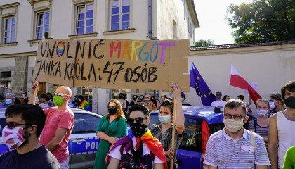 Reakcje polityków na zatrzymanie Margot: Ziobro, Brudziński, Jarubas