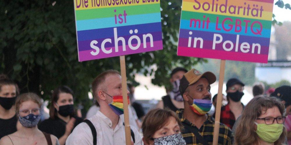 Wsparcie i solidarność wielu zagranicznych miast z polską społecznością LGBT po zatrzymaniu Margot