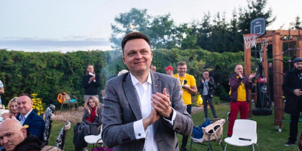 """Szymon Hołownia: """"Jest oczywiste, że osoby LGBT w Polsce doświadczają dyskryminowania"""""""