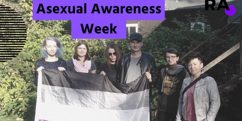 Już wkrótce rozpocznie się Asexual Awareness Week. Rozmawiamy z przedstawicielami Asfery