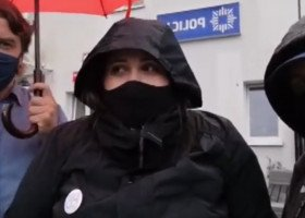 Kolejne obywatelskie zatrzymanie homofobicznej furgonetki. Tęczowe Opole zablokowało pogromobusa