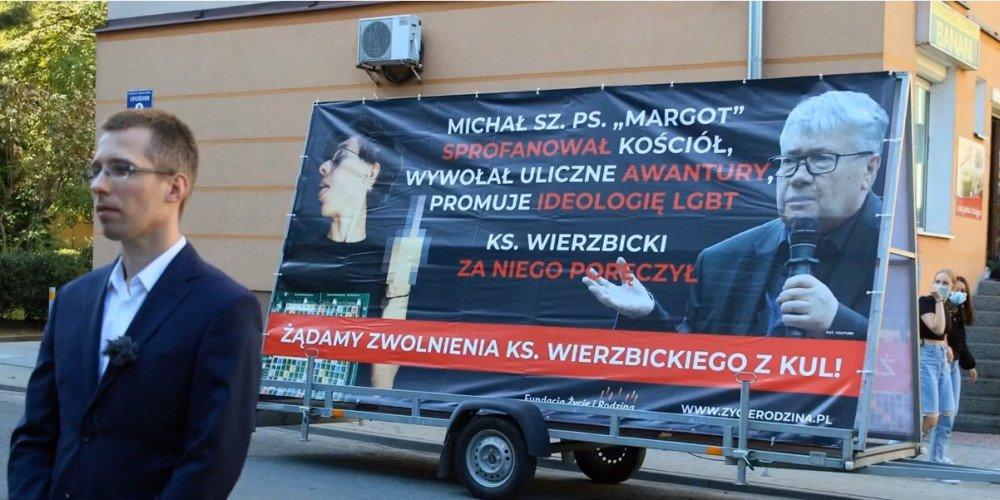 Fundacja Kai Godek chce odwołania ks. Wierzbickiego z KUL-u z powodu poręczenia za Margot