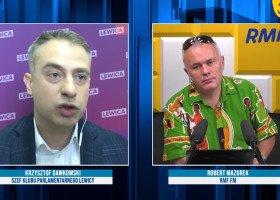 Robert Mazurek przerwał wywiad z posłem Lewicy po słowach o dehumanizowaniu osób LGBT