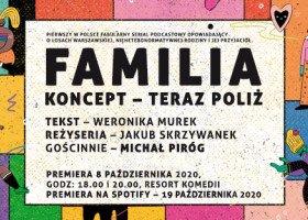 """""""Familia"""" - poznajcie pierwszy polski serial podcastowy o nieheteronormatywnej rodzinie"""