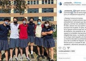 Tymczasem w Kanadzie... Uczniowie w spódnicach protestują przeciwko seksizmowi i homofobii