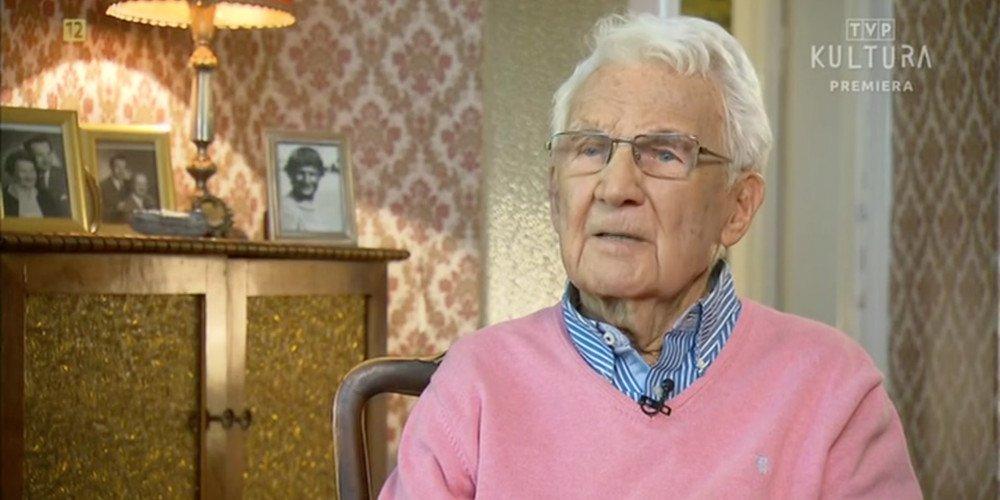 Nie żyje Witold Sadowy - aktor, który dokonał publicznego coming outu w wieku 100 lat