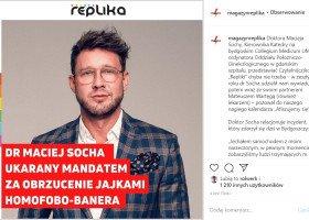 Maciej Socha: sprzeciwianie się homofobii nie powinno być aktem odwagi, a standardem