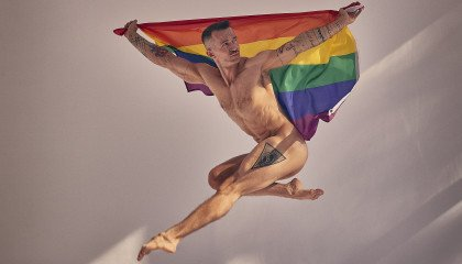 """Patryk Rybarski – aktor, tancerz, model i bohater nagiego kalendarza """"Repliki"""" """"Afiszujemy się"""""""