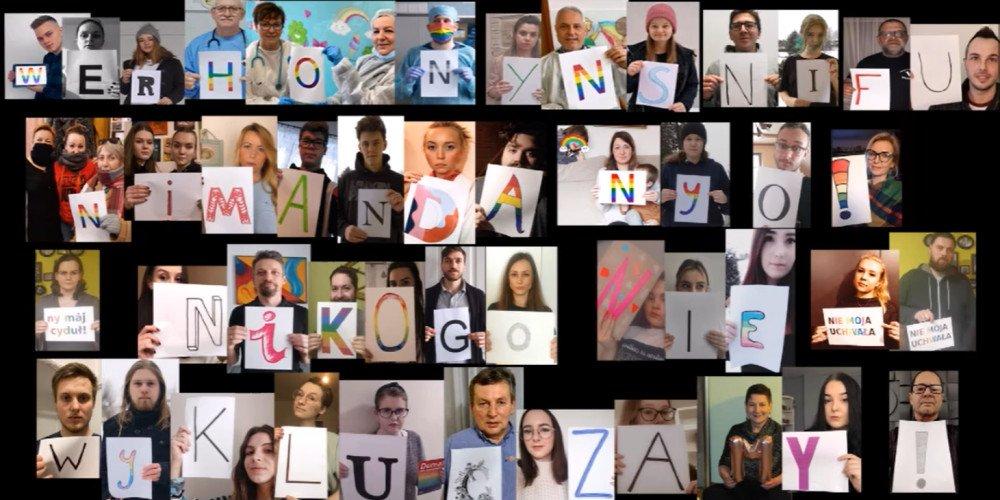 """#NieMojaUchwała - mieszkańcy i mieszkanki Wilamowic sprzeciwiają się strefie """"wolnej od LGBT"""""""