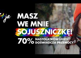 """Rusza nowa kampania wsparcia dla młodzieży """"LGBT+ja"""" od Fundacji Dajemy Dzieciom Siłę"""