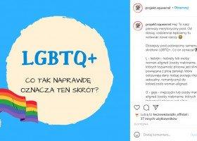 Projekt Squeerrel, czyli osoby z liceum w Malborku edukujące na temat społeczności LGBTQ