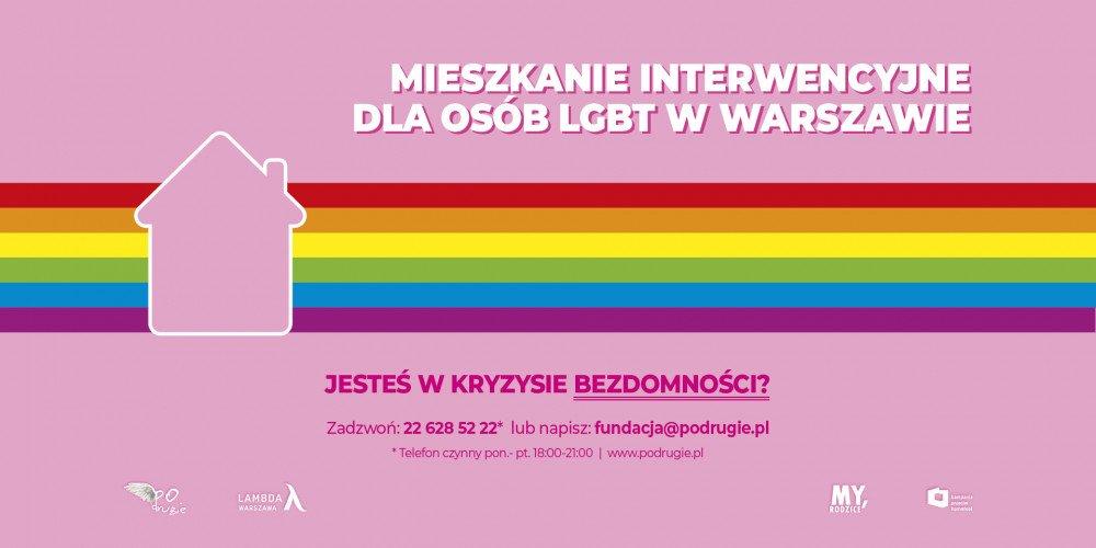 KPH i inne organizacje otworzyły pierwsze w Warszawie mieszkanie interwencyjne dla bezdomnych osób LGBT