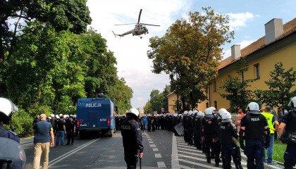Kolejny wyrok za przestępstwa podczas pierwszego Marszu Równości w Białymstoku. Tym razem więzienie w zawieszeniu i grzywna