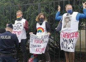 Warszawa: protesty przeciwko przemocy policyjnej
