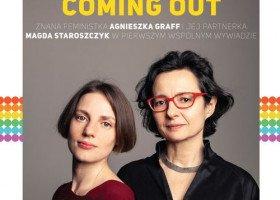 """W nowej """"Replice"""": pierwszy wywiad z Agnieszką Graff i jej partnerką po coming oucie"""
