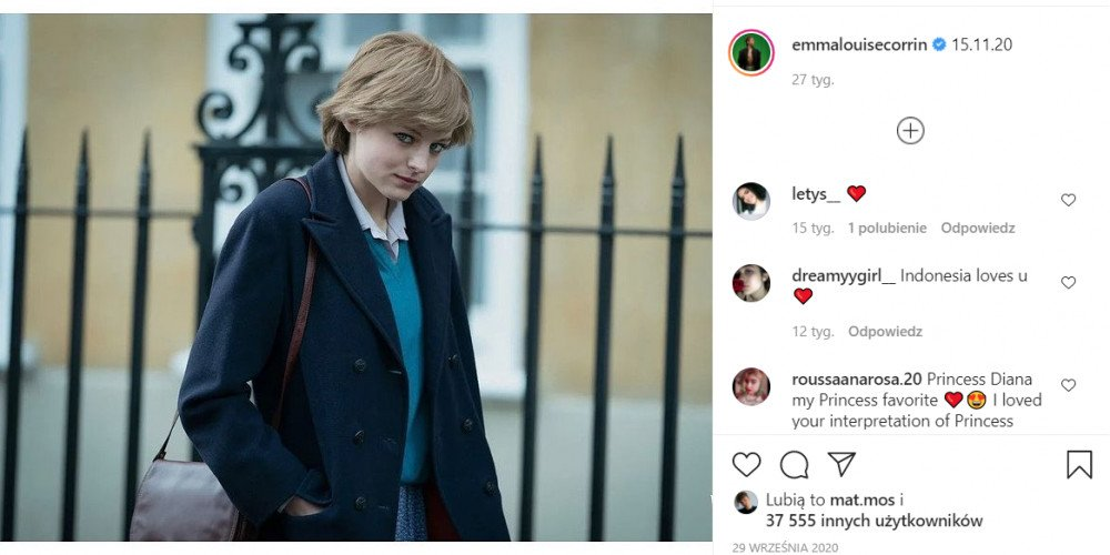 "Gwiazda ""The Crown"" Emma Corrin ujawniła się jako osoba queerowa"