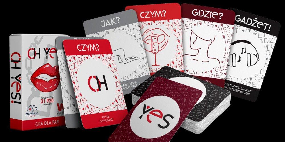 KONKURS: Kochaj się na 31 920 sposobów - przedstawiamy Wam grę OH YES!