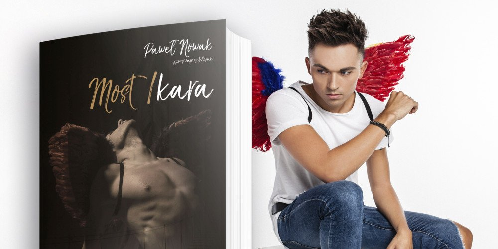 """Premiera książki LGBT """"Most Ikara"""" autorstwa Pawła Nowaka, znanego jako Zwyczajny Chłopak"""