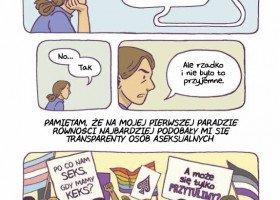"""""""Gender queer"""" wyjątkowy autobiograficzny komiks o dorastaniu jako aseksualna osoba niebinarna"""