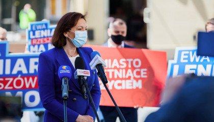 """Ewa Leniart, kandydatka na prezydentkę Rzeszowa mówi o strefach """"wolnych od LGBT"""""""