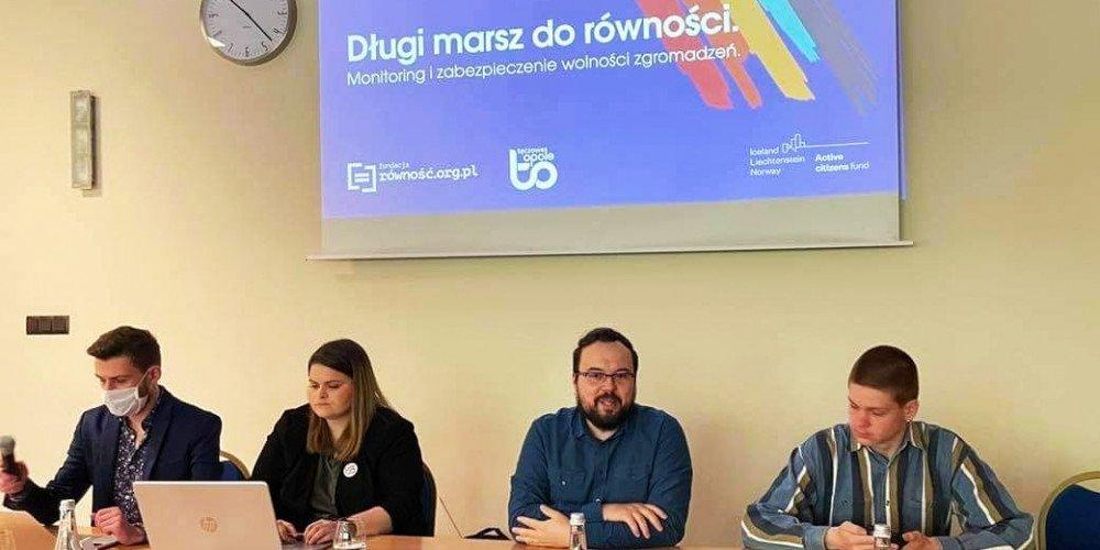"""Rusza 3-letni projekt """"Długi marsz do równości. Monitoring i zabezpieczenie wolności zgromadzeń"""""""