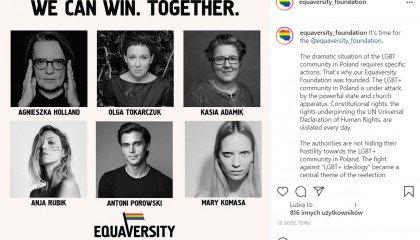 """""""Fundacja Równorodność"""" - Porowski, Rubik, Holland w inicjatywie pomagającej osobom LGBTQ+"""