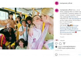 Maria Peszek z mocny utworem o LGBT na Miesiąc Dumy! Artystka powraca z nowym singlem