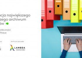 Digitalizacja archiwów LGBTQ Lambdy Warszawa