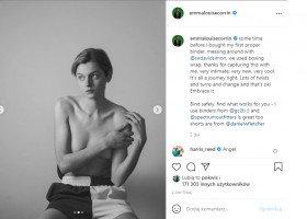 Netflixowa Księżna Diana - Emma Corrin - ujawniła się jako osoba niebinarna i zapozowała w binderze