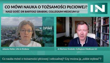 Dr Grabski: Tożsamości płciowej nie można sobie wybrać, podobnie jak orientacji seksualnej