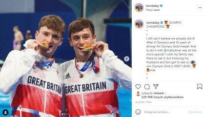 Tom Daley kieruje inspirujące słowa do młodych osób LGBT po zdobyciu złotego medalu olimpijskiego