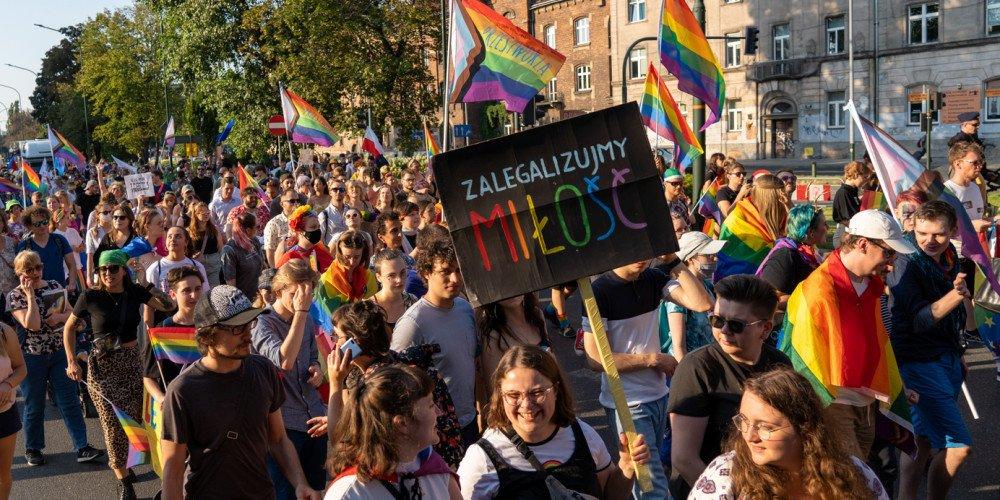 XVII Marsz Równości w Krakowie: zobacz zdjęcia