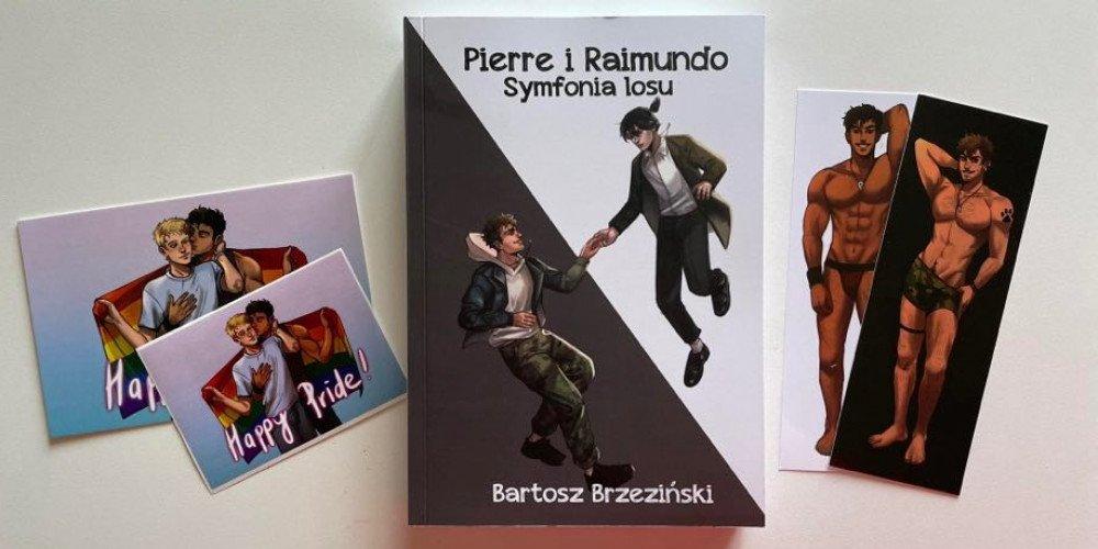 """Konkurs: Wygraj książkę """"Pierre i Raimundo"""". Symfonia losu"""" Bartosza Brzezińskiego"""