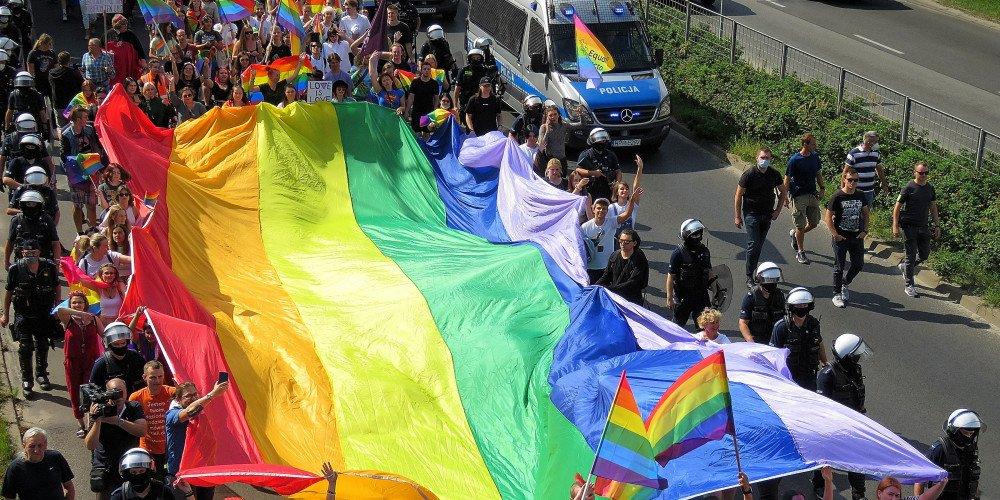Kolejne Marsze Równości 2021 za nami! Następne dwa już w ten weekend w Pile i Zielonej Górze