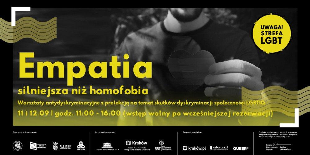 """Teatr Barakah w Krakowie zaprasza na kolejne wydarzenie z cyklu """"UWAGA! Strefa LGBT"""" - warsztaty antydyskryminacyjne"""