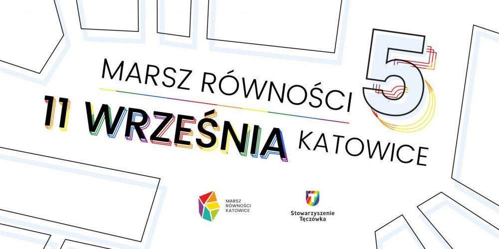 Już jutro startuje 5. Marsz Równości w Katowicach!