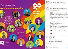 Korony Równości 2021 KPH rozdane. Maja Staśko, Maja Heban, Robert Biedroń - kto jeszcze został wyróżniony?