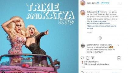 """Gwiazdy """"RuPaul's Drag Race"""" - Katya Zamolodchikova i Trixie Mattel - planują występ w Polsce!"""