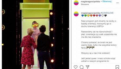 Magia Nagości Polska: W dzisiejszym odcinku zobaczymy reprezentanta społeczności LGBT