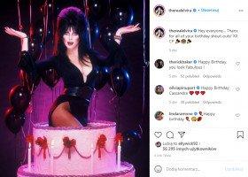 """Ikoniczna władczyni ciemności - Elvira - zrobiła coming out w wieku 70 lat. """"Nareszcie jestem szczęśliwa"""""""