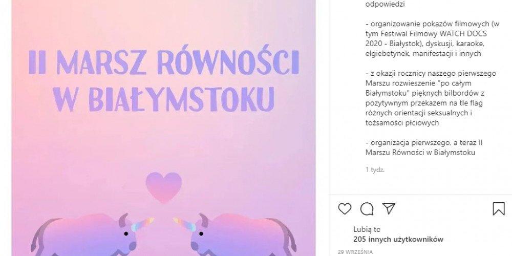 Już jutro drugi Marsz Równości w Białymstoku - Arcybiskup wystosował apel