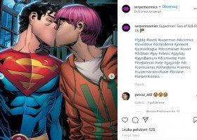 Nowy Superman jest biseksualny, ma chłopaka i chodzi na protesty