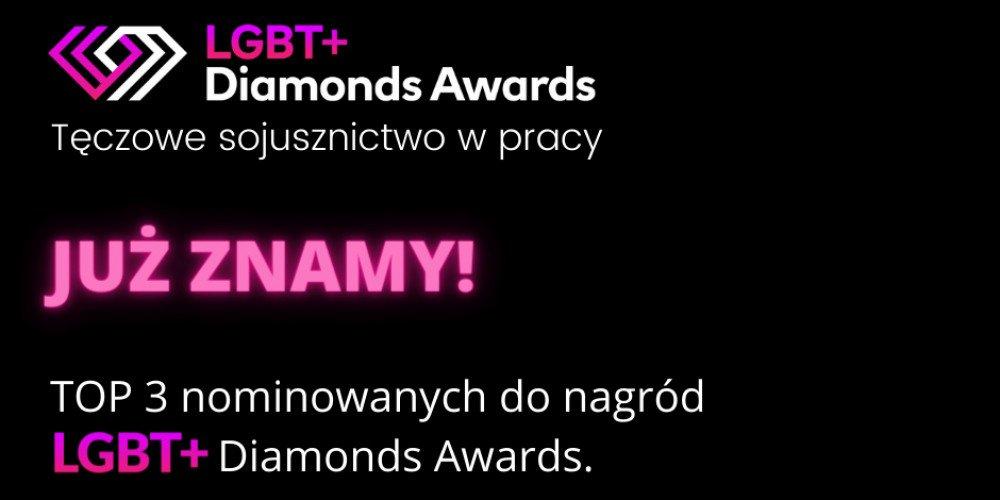 Znamy już wszystkich nominowanych do LGBT+ Diamonds Awards! Kto ma szansę na wygraną w tym roku?