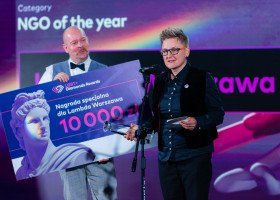 """Nagrody LGBT+ Diamonds Awards rozdane! Lambda Warszawa: """"Jesteśmy dla całej społeczności, dla wszystkich literek"""""""