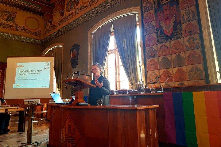 Barbara Borowiak opowiada o trójmiejskim Modelu na Rzecz Równego Traktowania